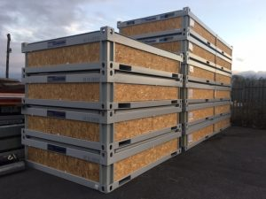 Portable Cabins Flat Packed