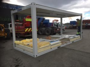 Portable Cabins easily assembled