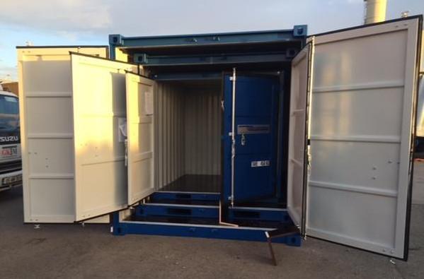 Mini Shipping containers 6ft, 8ft, 10ft