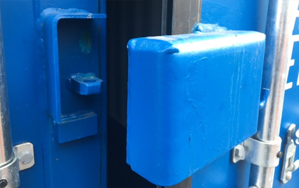 Anti Vandal Lock for shipping container