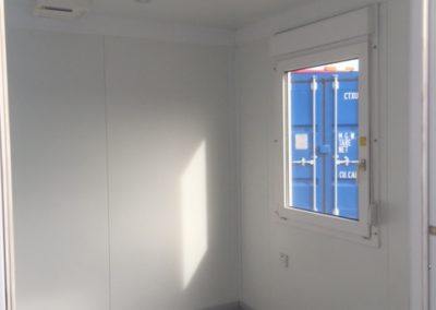 10ft office unit interior