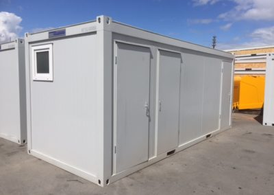 20ft Sanitary Unit