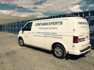 ContainExperts Van