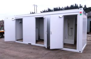 20ft x 8ft Sanitary Unit