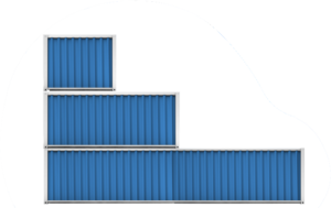 Container-sizes