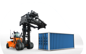 Forklift for containers